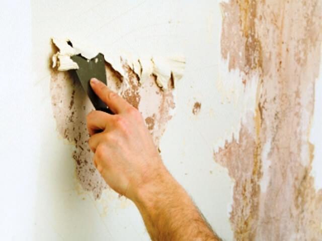 подготовка стен перед обработкай стен