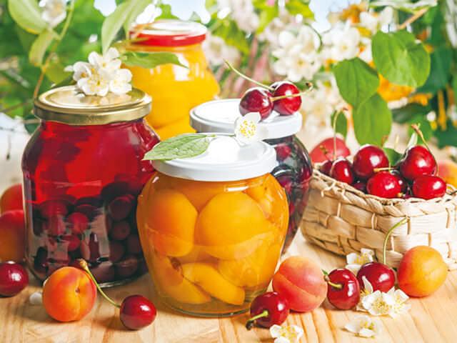 правильная консервация фруктов